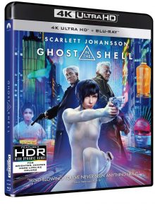 Ghost in the shell (blu-ray 4k ultrahd + blu-ray)