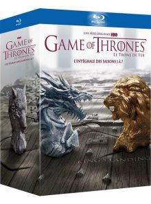 Game of thrones (le trône de fer) - l'intégrale des saisons 1 à 7 - edition limitée - inclus un contenu exclusif et inédit conquête & rébellion - l'histoire des sept couronnes - blu-ray