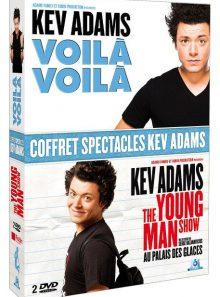 Coffret spectacles kev adams : voilà voilà + the young man show - pack