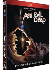 Ash vs evil dead - l'intégrale de la saison 3 - blu-ray