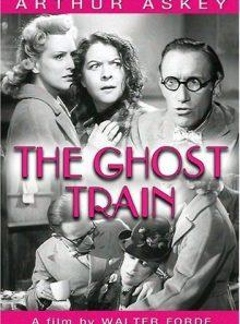 The ghost train (b&w)