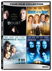 Meryl streep four-film collection: doubt (2008) / music of the heart / marvin's room / house of the spirits