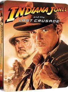 Indiana jones and the last crusade (steelbook zavvi avec vf)
