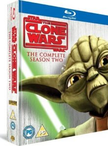 Star wars - the clone wars - series 2 - complete [blu-ray] [import anglais] (import) (coffret de 3 blu-ray)