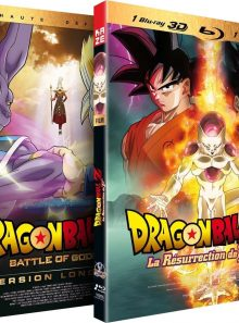 Dragon ball z : battle of gods + la résurrection de f - pack 2 blu-ray