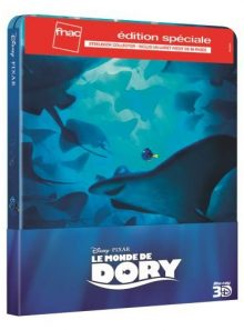 Le monde de dory - edition collector 3d/2d steelbook