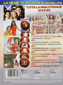 Baywatch season 1 (1989 1990) 6 dvd box set ( bay watch entire season one ) [ non usa format, pal, reg.2 import italy ]