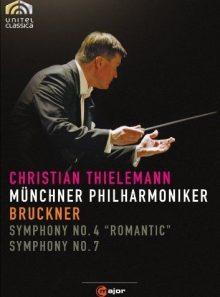 Symphonies n° 4 romantique & 7