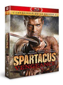 Spartacus : vengeance - l'intégrale de la saison 2 - blu-ray
