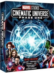 Marvel studios - cinematic universe : phase une - blu-ray