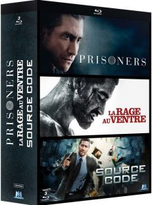Coffret jake gyllenhaal : prisoners + la rage au ventre + source code - pack - blu-ray