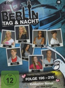 Berlin - tag & nacht - staffel 11 (folge 196-215) (4 discs)