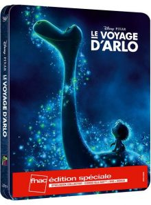 Le voyage d'arlo - édition limitée exclusive fnac boîtier steelbook - blu-ray + dvd