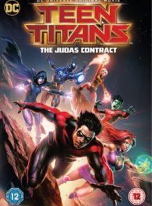 Teen titans judas contract [dvd + digital download] [2017]