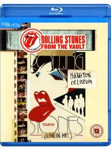 The rolling stones - from the vault - hampton coliseum (live in 1981) - sd blu-ray (sd upscalée)