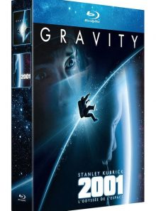 Gravity + 2001, l'odyssée de l'espace - pack - blu-ray