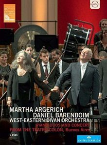 West eastern divan orchestra - piano duos and concert from the teatro colon