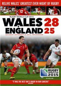 Rugby world cup 2015 - wales v england [dvd]