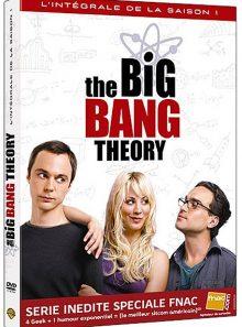 The big bang theory - saison 1 - édition spéciale fnac