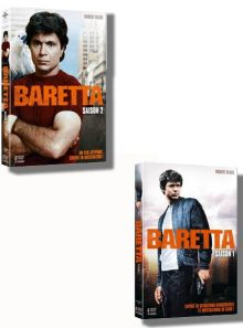 Baretta saison 1 à 2 ( pack 2 coffrets dvd )