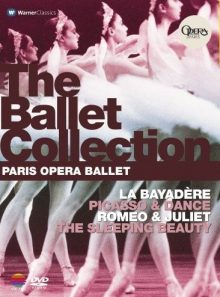 The ballet collection - paris opéra ballet la bayadère, picasso & dance, romeo & juliet, the sleeping beauty - dvd