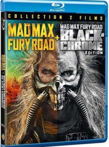 Mad max : fury road - version cinéma + black & chrome edition - blu-ray