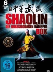 Shaolin - die unbesiegbaren kämpfer (2 discs)