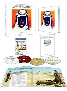 Lawrence d'arabie - édition deluxe limitée et numérotée - blu-ray