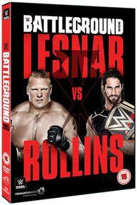 Wwe: battleground 2015 [dvd]