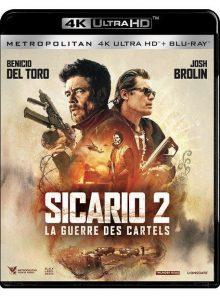 Sicario 2 : la guerre des cartels - 4k ultra hd + blu-ray