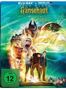 Goosebumps (chair de poule) - blu-ray import steelbook exclusif allemand - vf