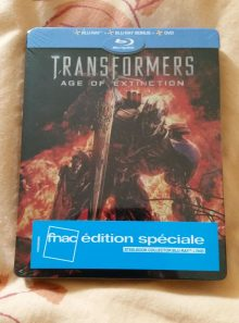 Transformers age of extinction steelbook