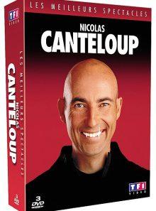Canteloup, nicolas - coffret - les meilleurs spectacles - pack
