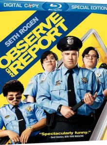Observe and report - blu ray import usa