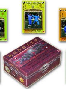 Coffret dvd tai chi chuan style yang vol 1, 2, 3, 4 et 5