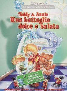 Teddy & annie una battaglia dolce e salata dvd italian import